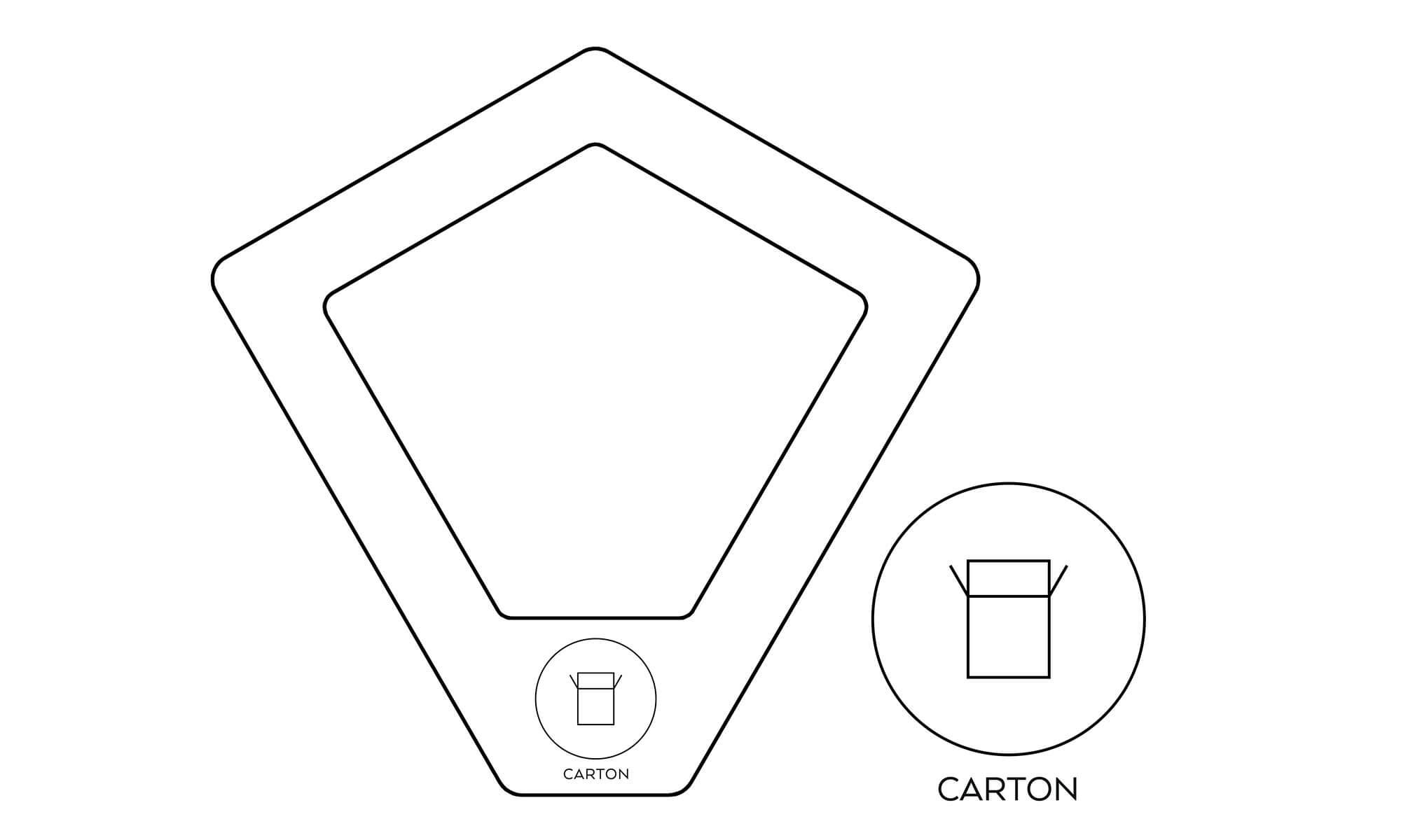 källsortering kartong well kite recycling carton