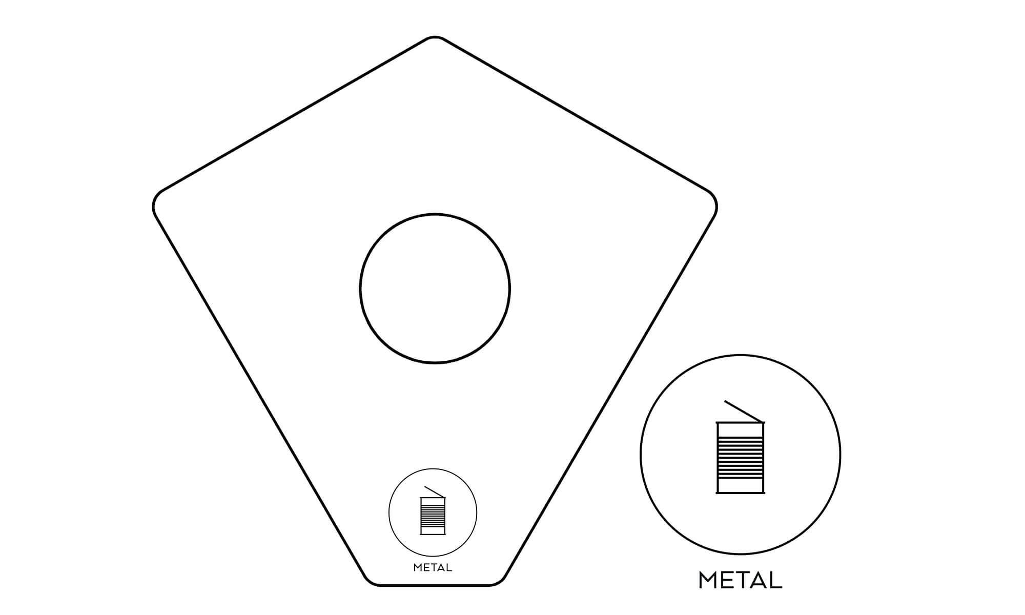 källsortering metall förpackningar konservburkar kite recycling metal