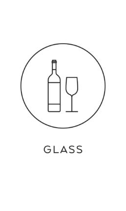symbol källsortering glas återvinning