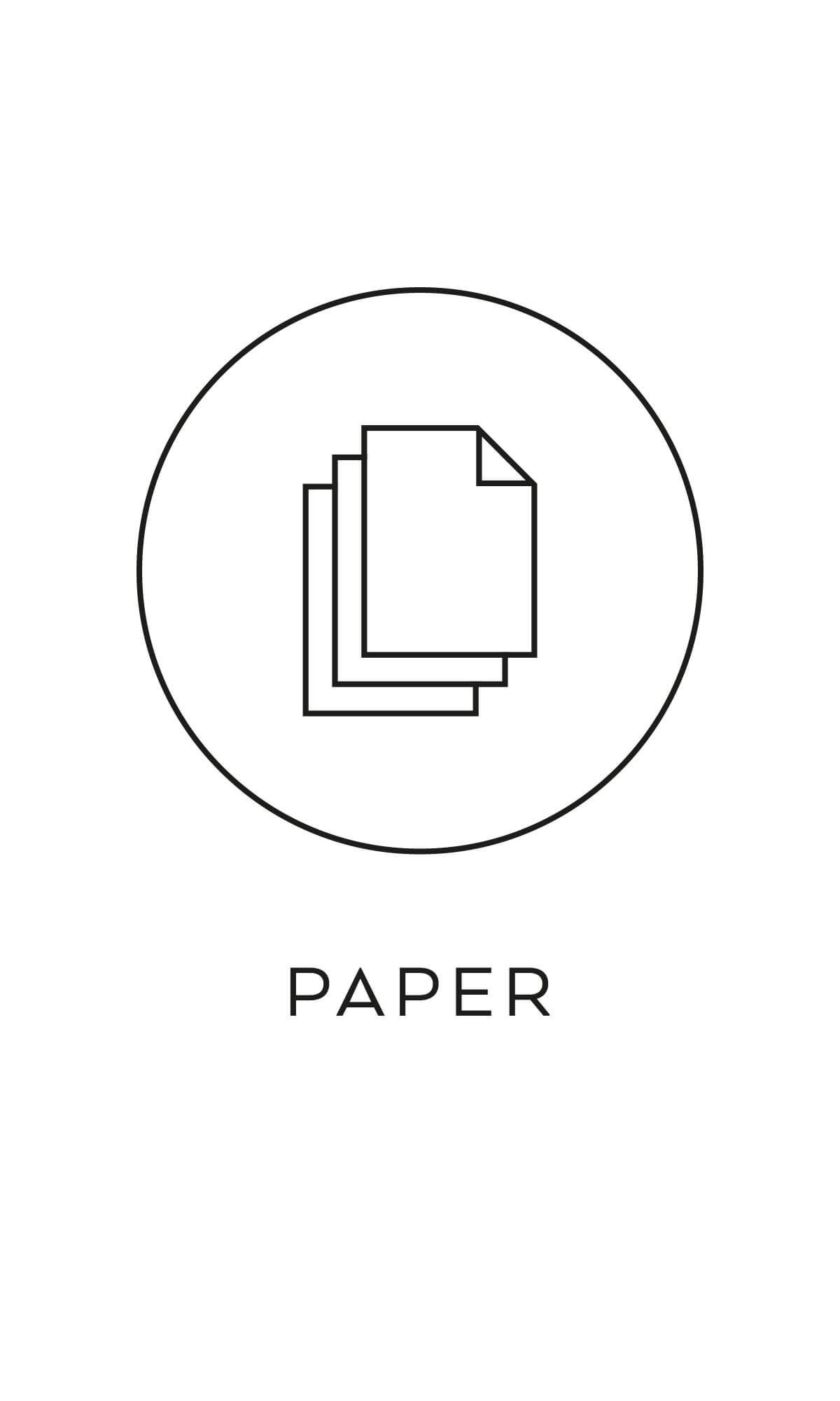symbol källsortering papper återvinning