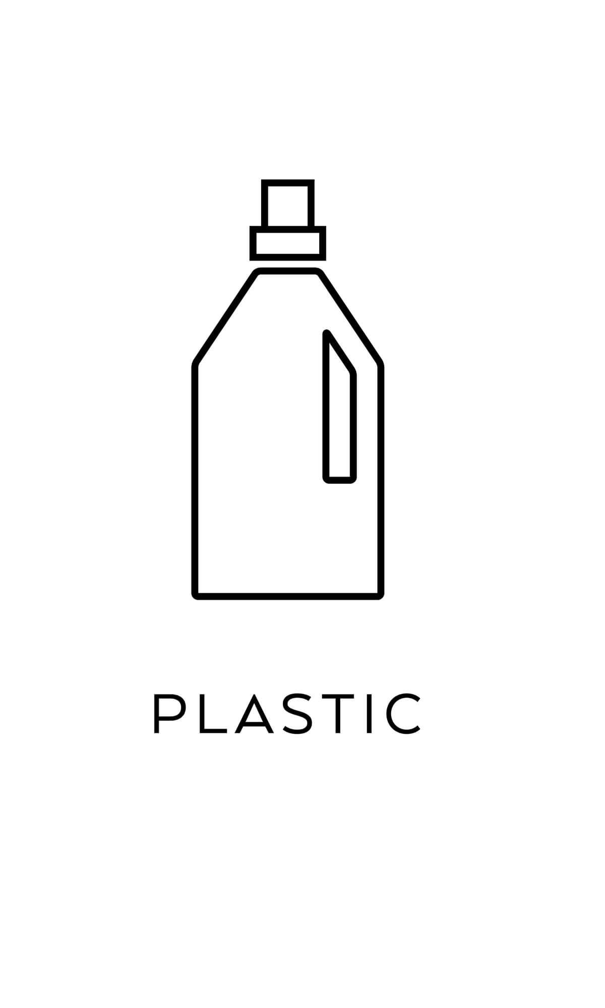 symbol källsortering plast återvinning