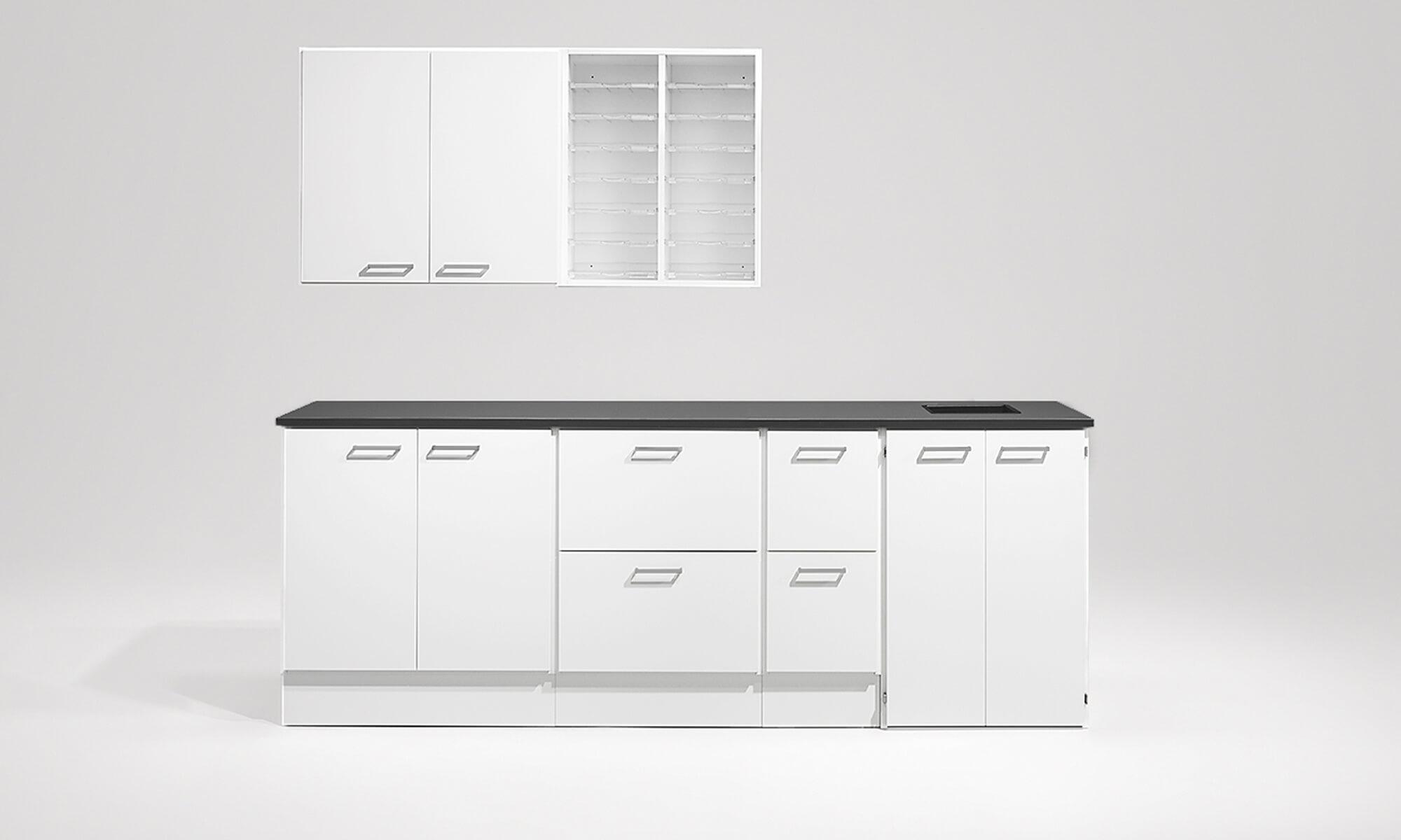 färdiga kombinationer kopieringsrum kontor kopieringsstationer copy station förvaring storage möbelfakta kontorsförvaring office storage trece