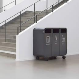 avfallshantering kontor källsortering offentliga miljöer