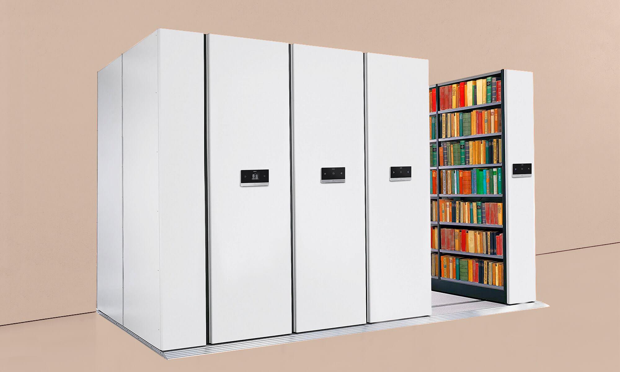 arkiv stål magasinering arkivering trece