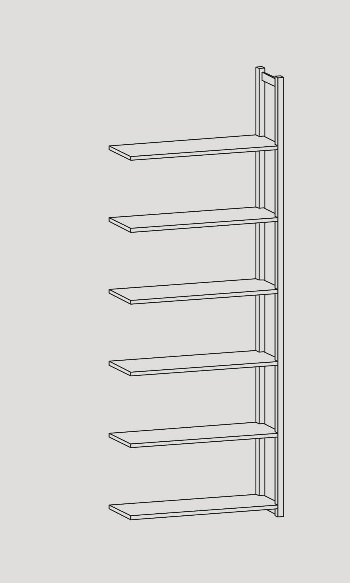 arkivhylla furu förvaring arkivering magasin archive shelf pine archiving storage