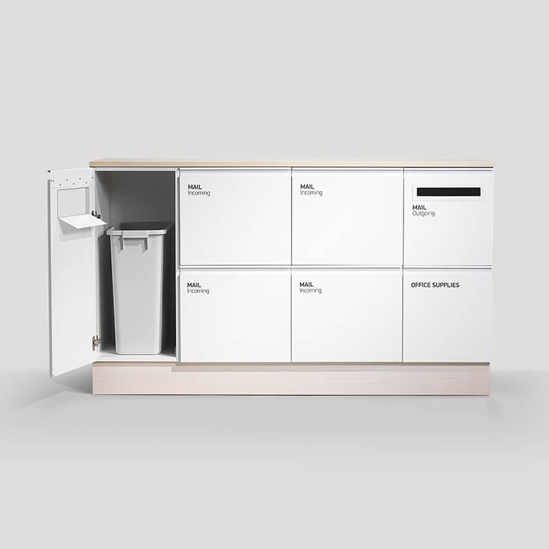 postsorteringsskåp postmöbe maill posthantering post mail trece postsortering kontor office storage trece förvaringslösningar