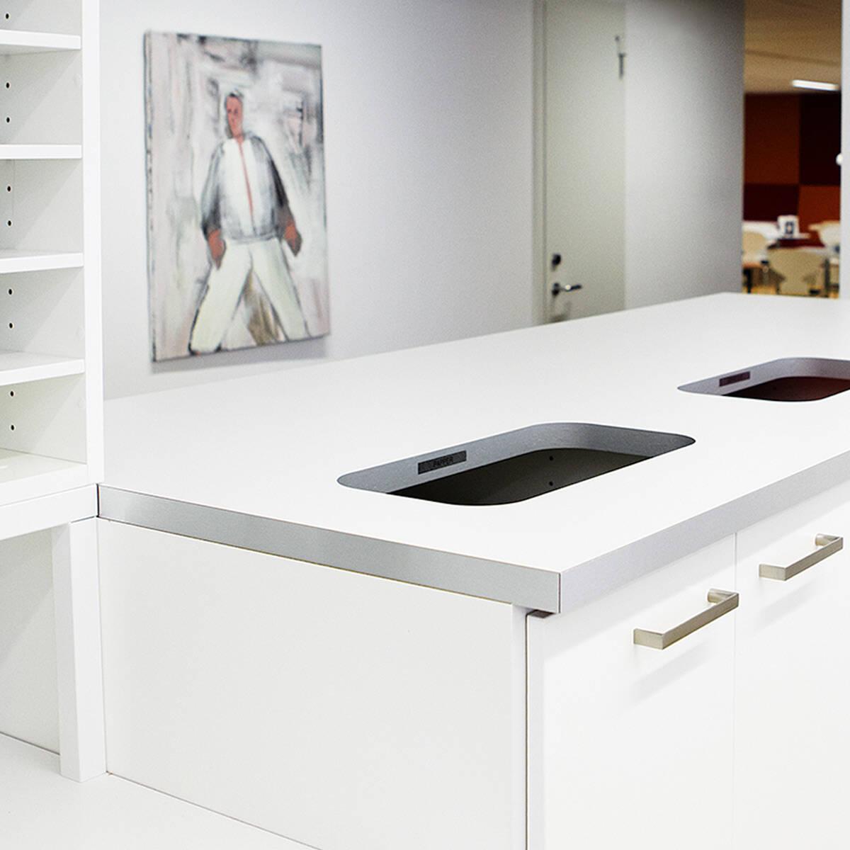 kungsleden referensprojekt kontorsförvaring förvaringssystem trece