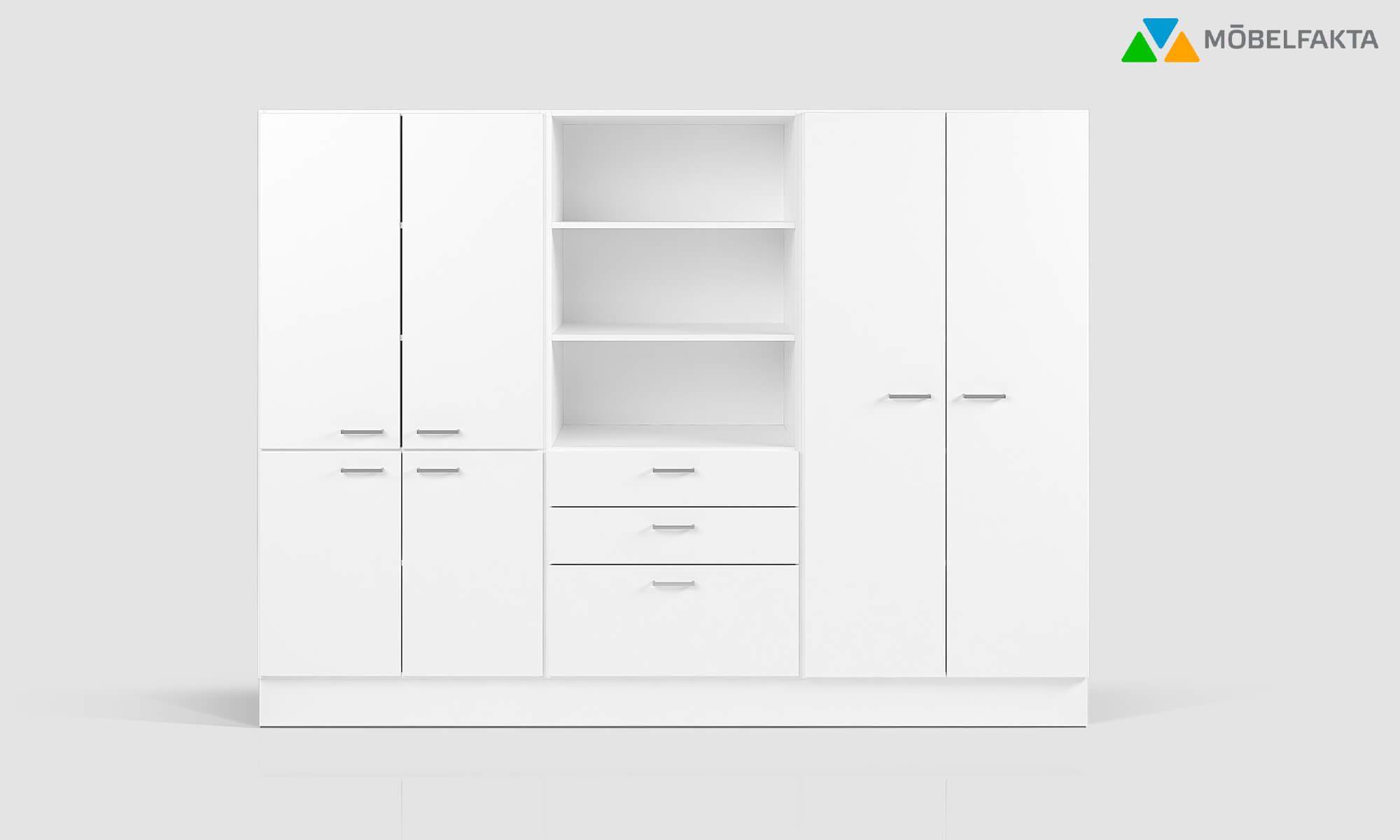 kontorsskåp hylla förvaring storage möbelfakta kontorsförvaring office storage trece shelves