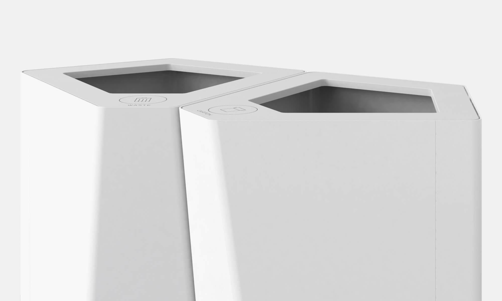 Kite papperskorg källsortering offentliga miljöer kontor förvaringslösningar