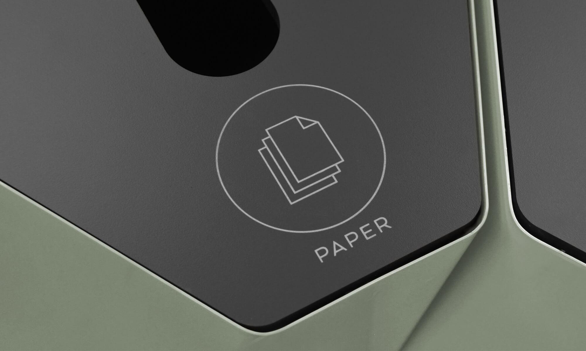 Kite_lock_symbol_trece papperskorg bin