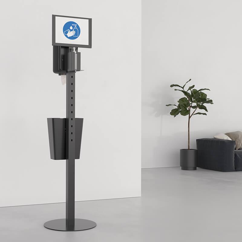 Dispenser stand for hand sanitizer
