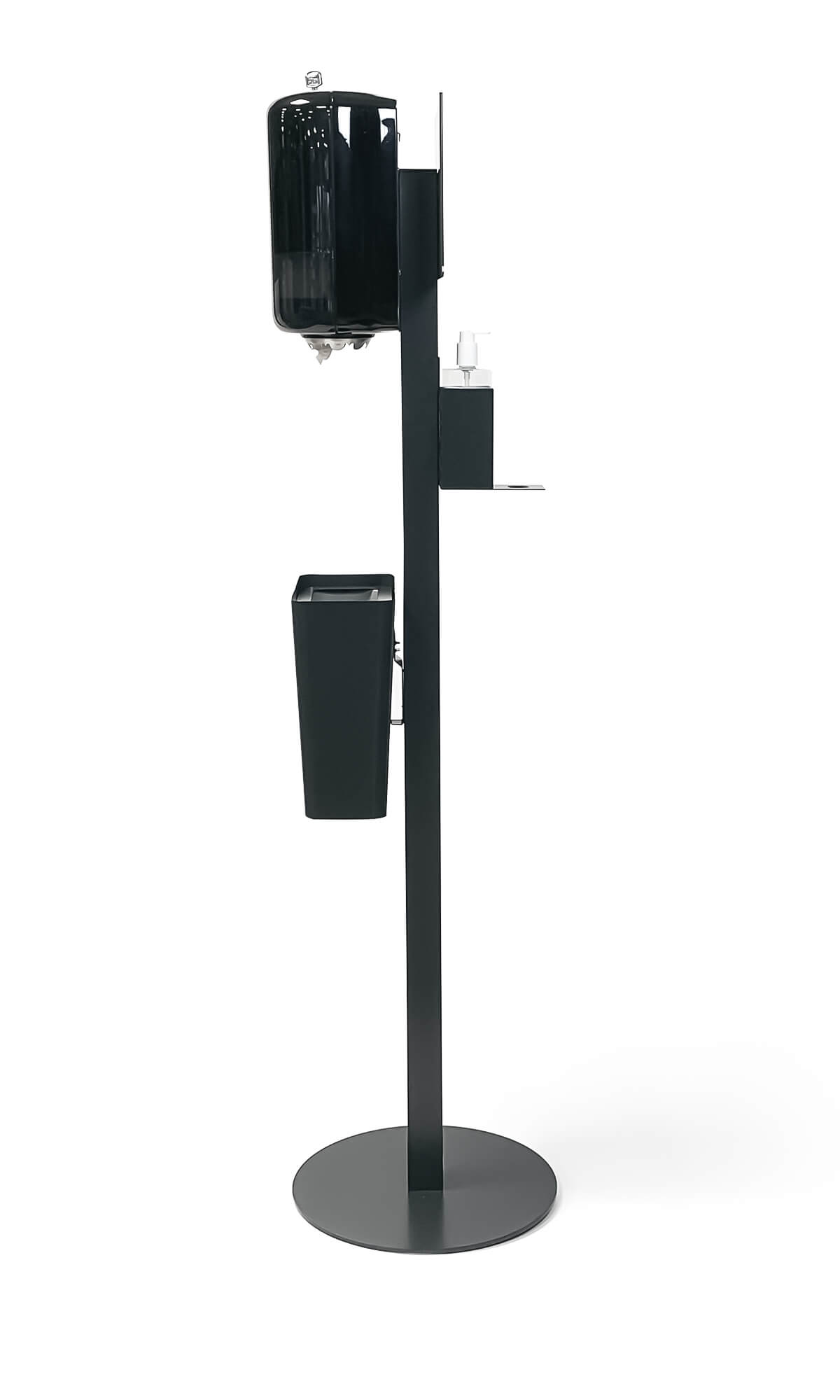 dispenserställ clean trece hållare ställning för handsprit