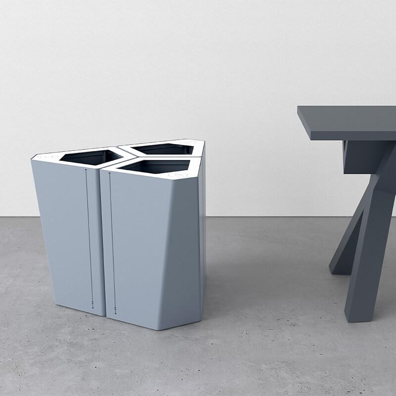 Kite mini papperskorg trece källsortering papperskorgar waste bin kontor recycling